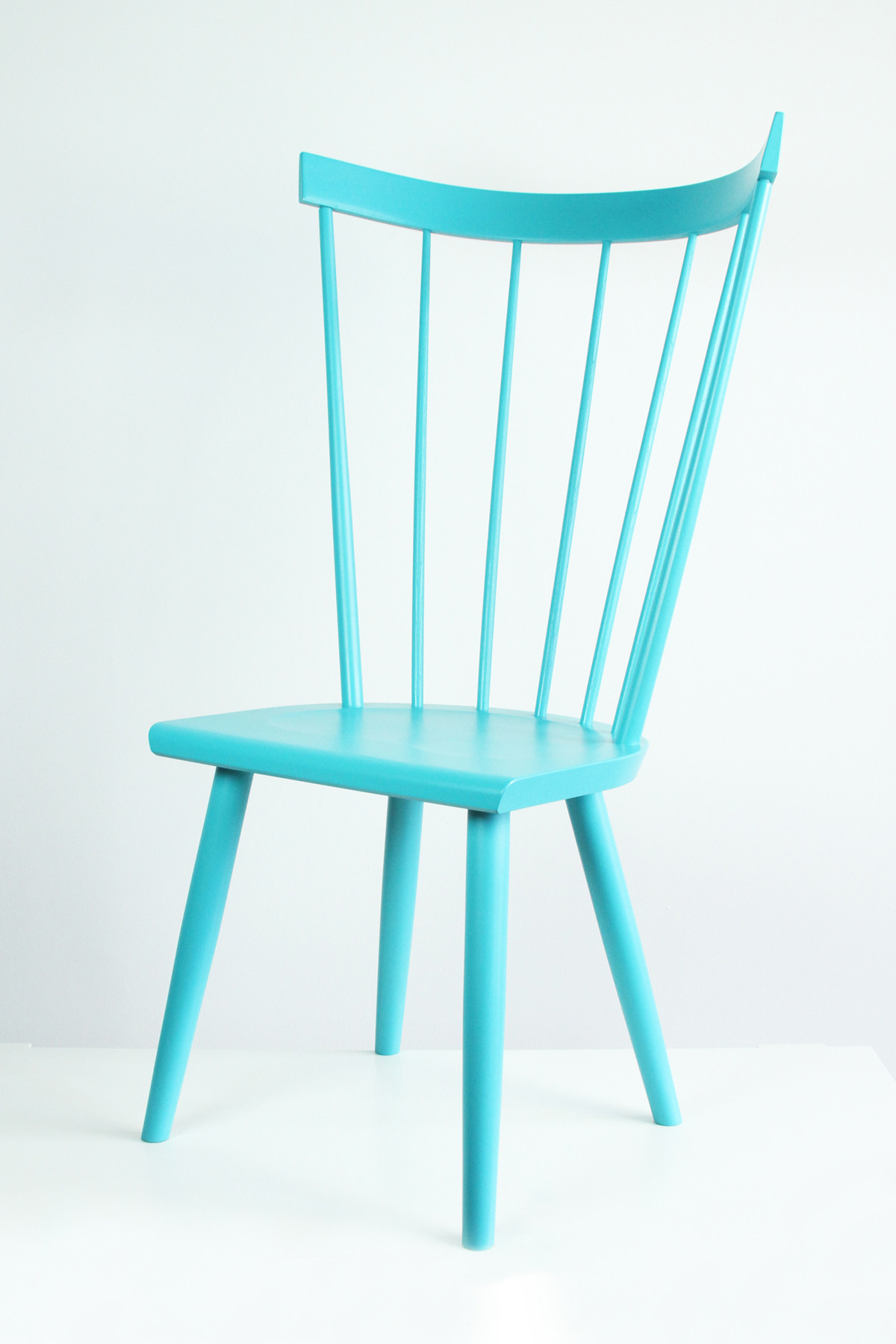 turquoise Windsor chair