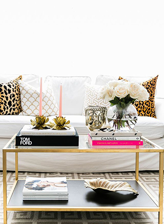 Coffee table styling books