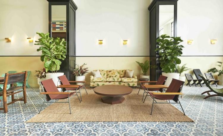Hospitality design seating area