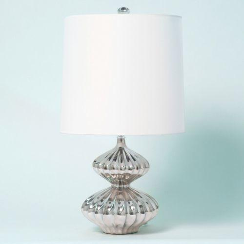 Platinum gourd mercury glass lamp