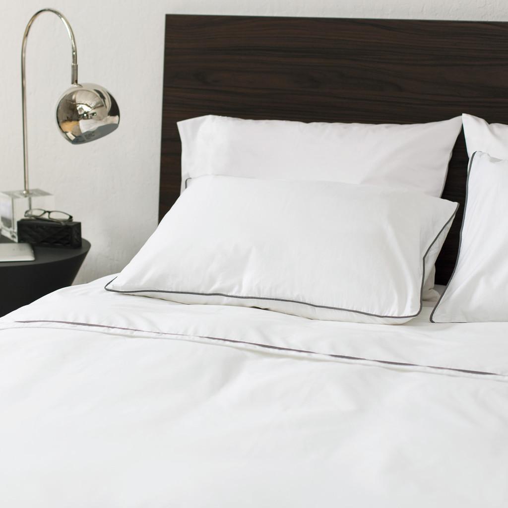 Hotel Lima luxury all white beds hospitality design