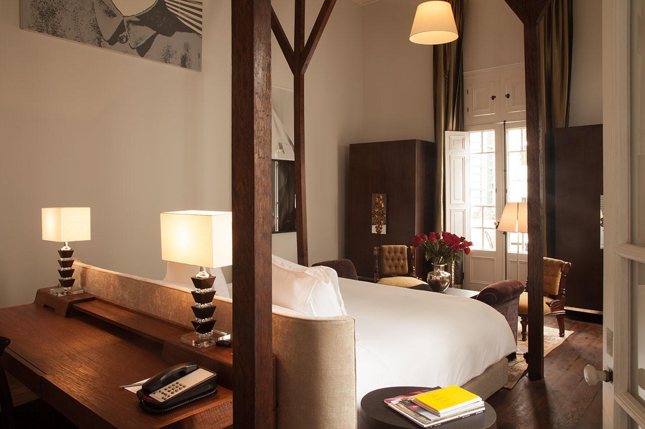 earthy luxury hotel lima bedroom hospitality design