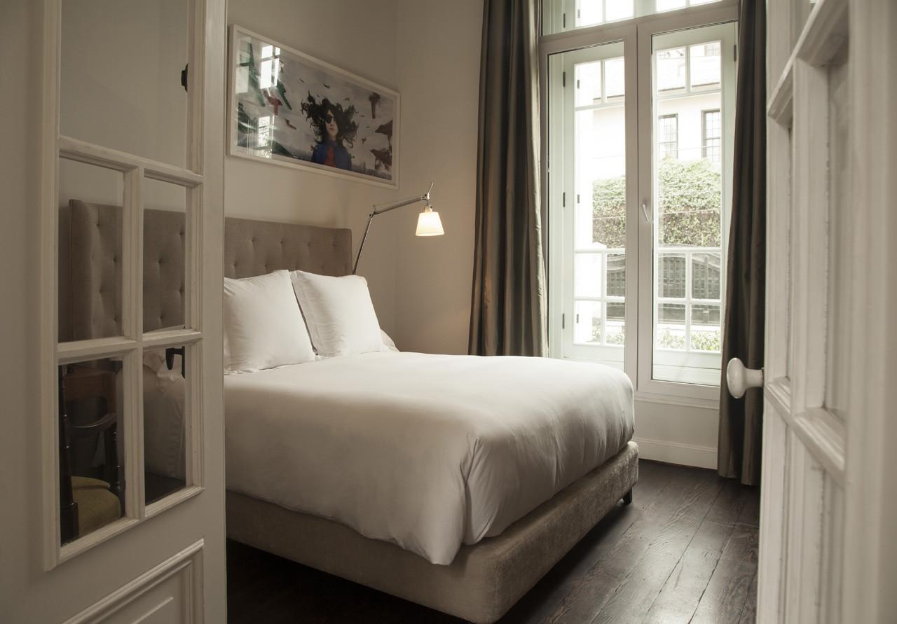 simple luxury hotel lima bedroom hospitality design
