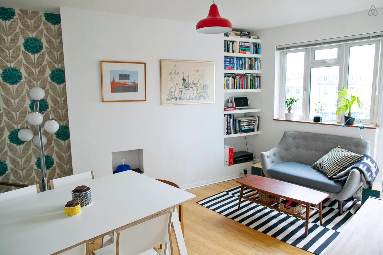 Mid-century style apartment