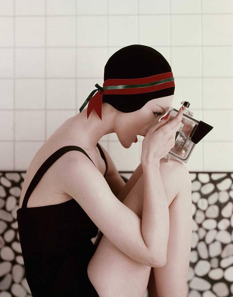 Retro fashion photography