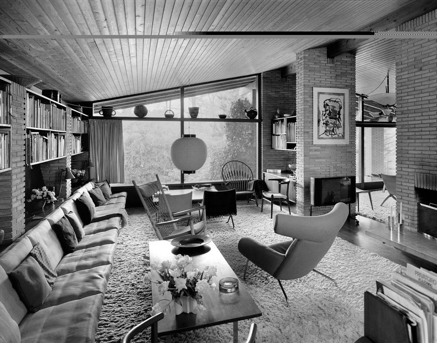 Danish modern living room design