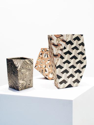 bold ceramic vases