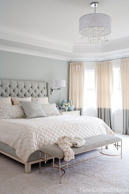 Aqua master bedroom design
