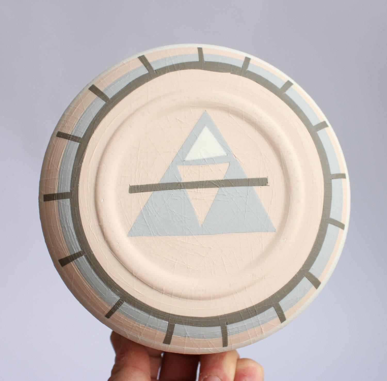 Pastel ceramic bowl