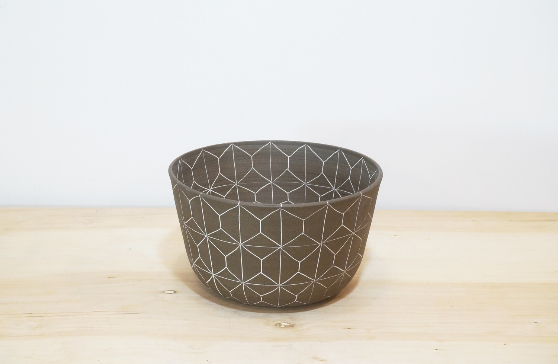 geometric pattern ceramic