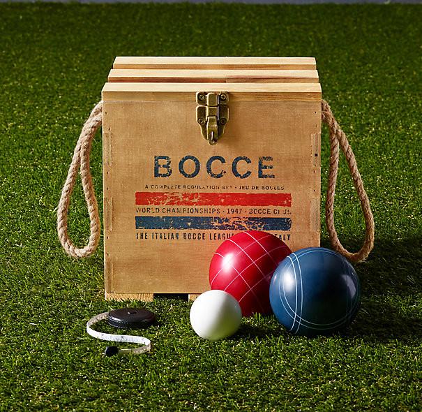 Boccia set for restoration hardware