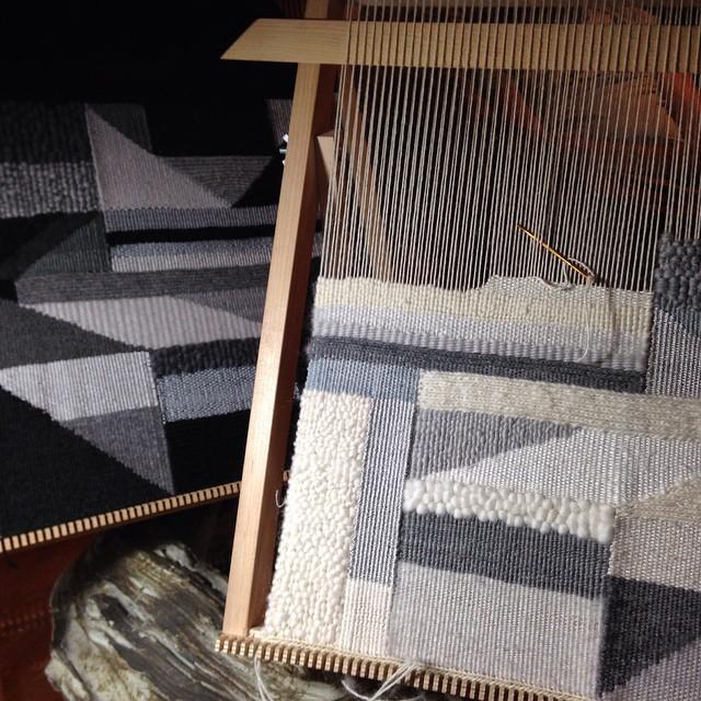 Loom textile art