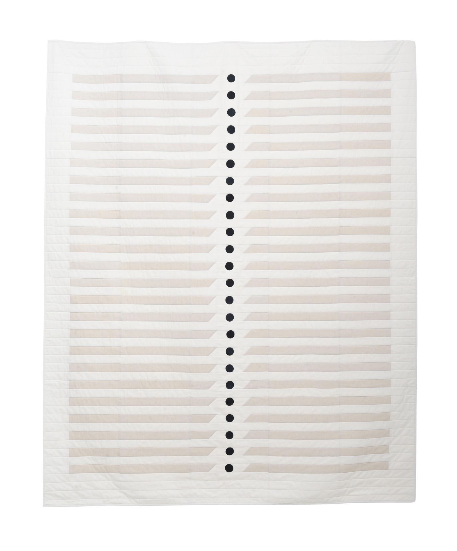 modern minimalist quilt design