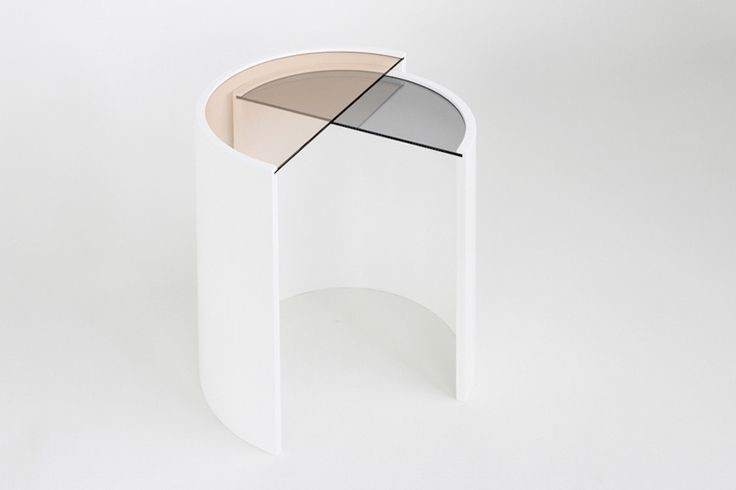 colored glass nesting tables