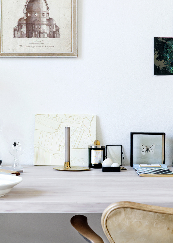 Minimal desk accessories
