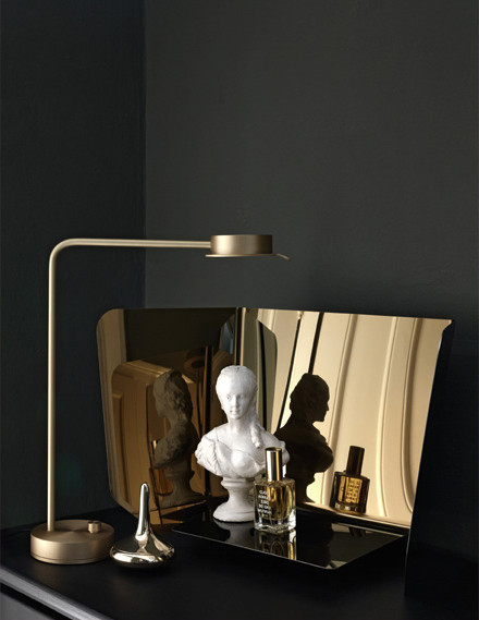 Gold and brass accessories