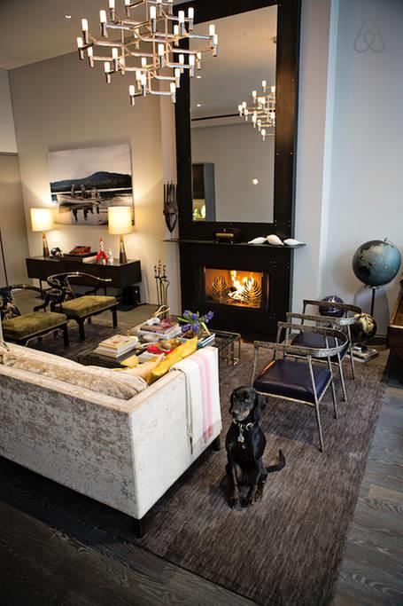 rent modern loft apartment