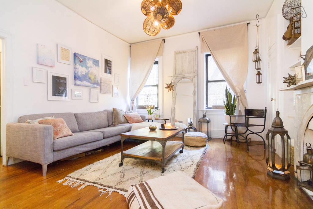 New York bohemian apartment