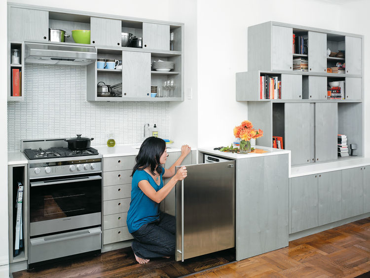 Small storage solutions for the kitchen