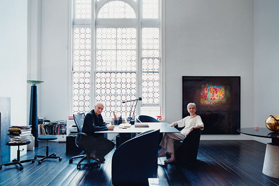 Home office by Massimo Vignelli
