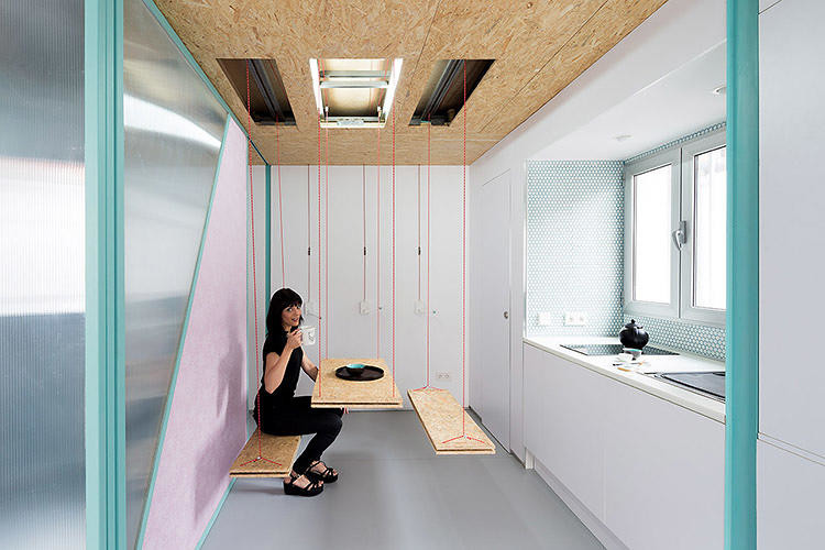 Living solutions in a small space