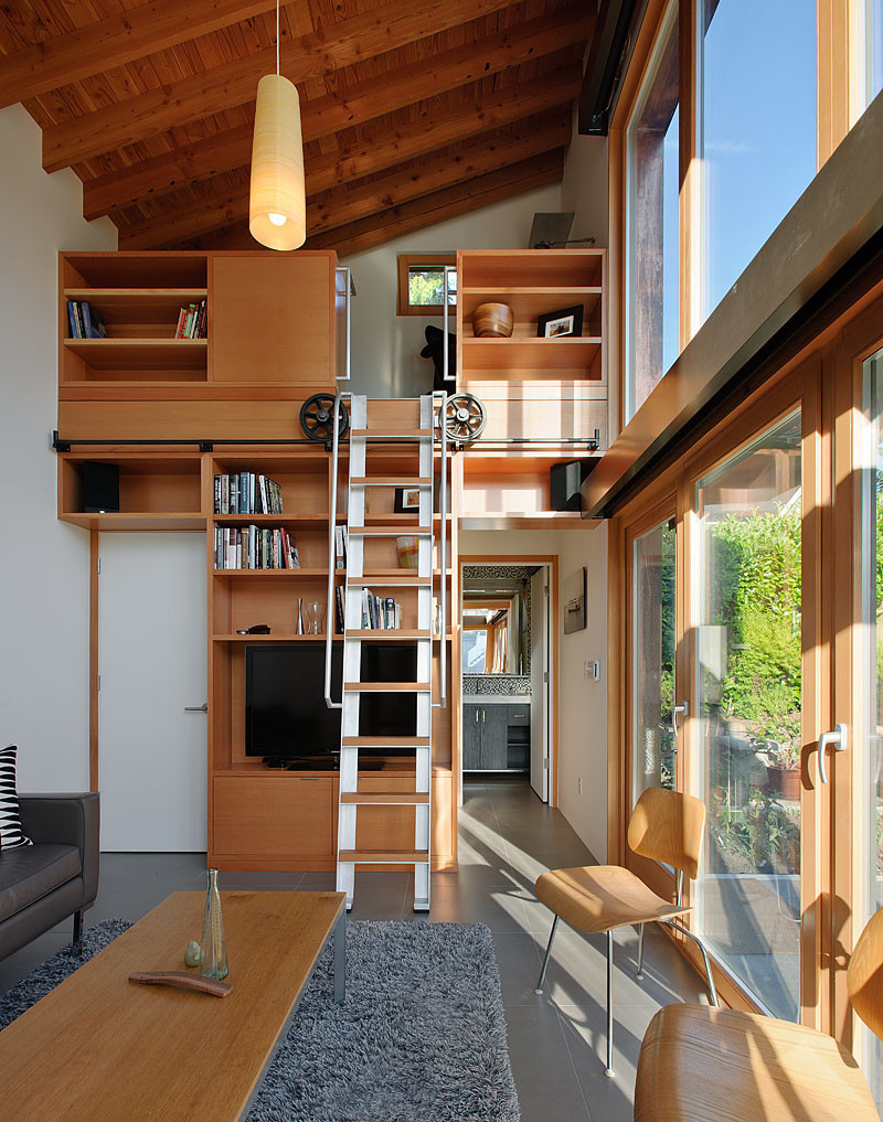 Loft space small living solution