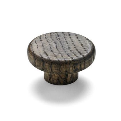 modern wooden button