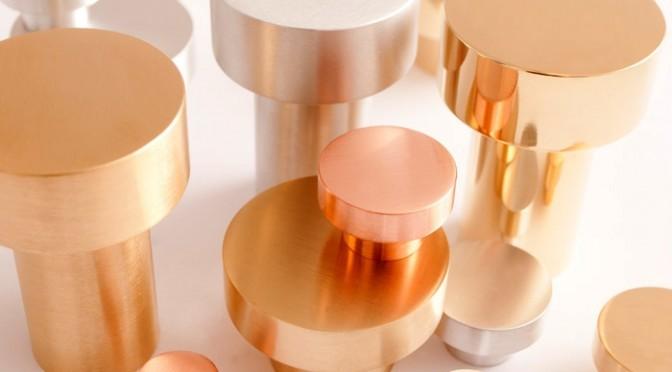 Metallic button fittings