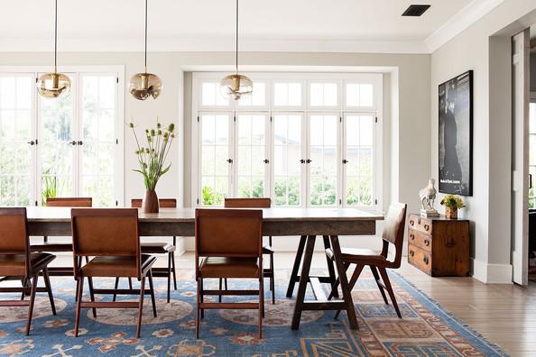 Michael C. Hall dining room