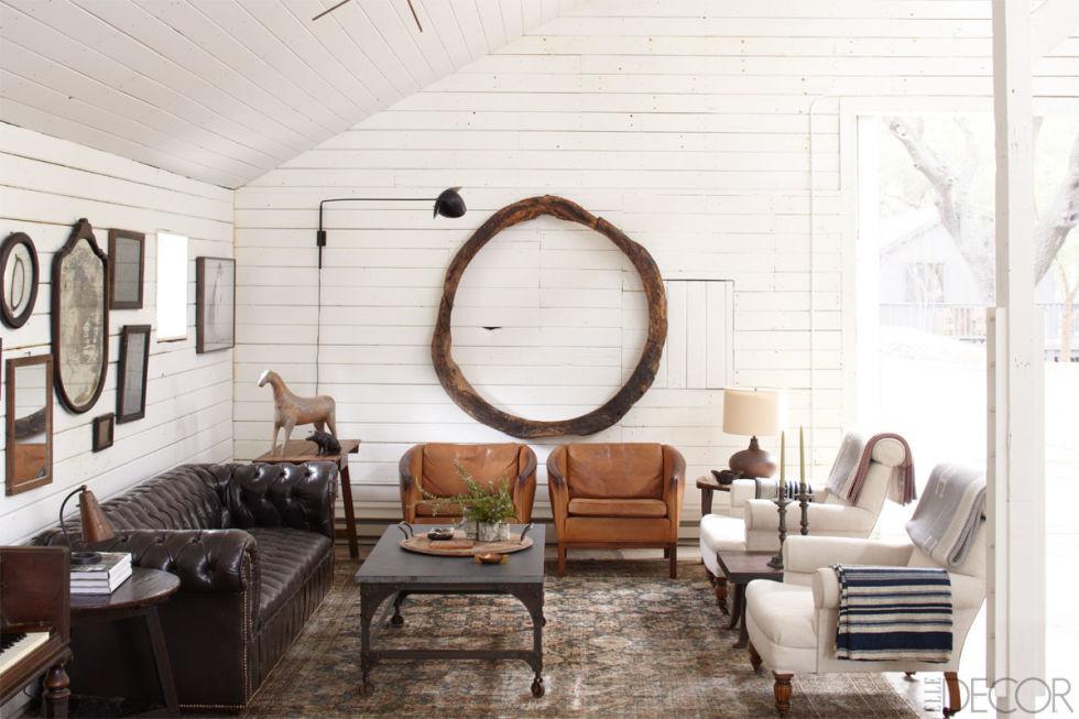Ellen Degenere's living room