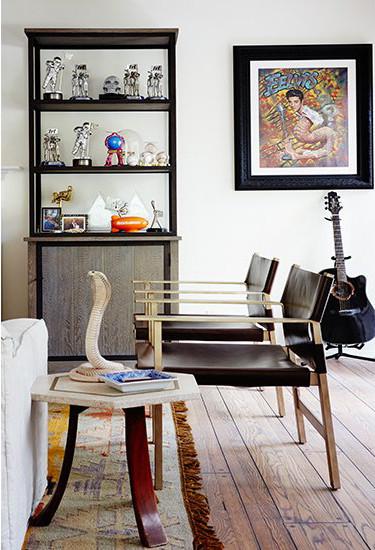 benji madden musician living room