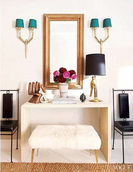 Karlie Kloss fashionable flat design