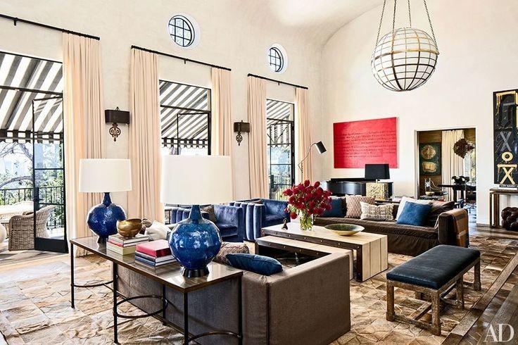 Ellen Pompeo glamorous living room