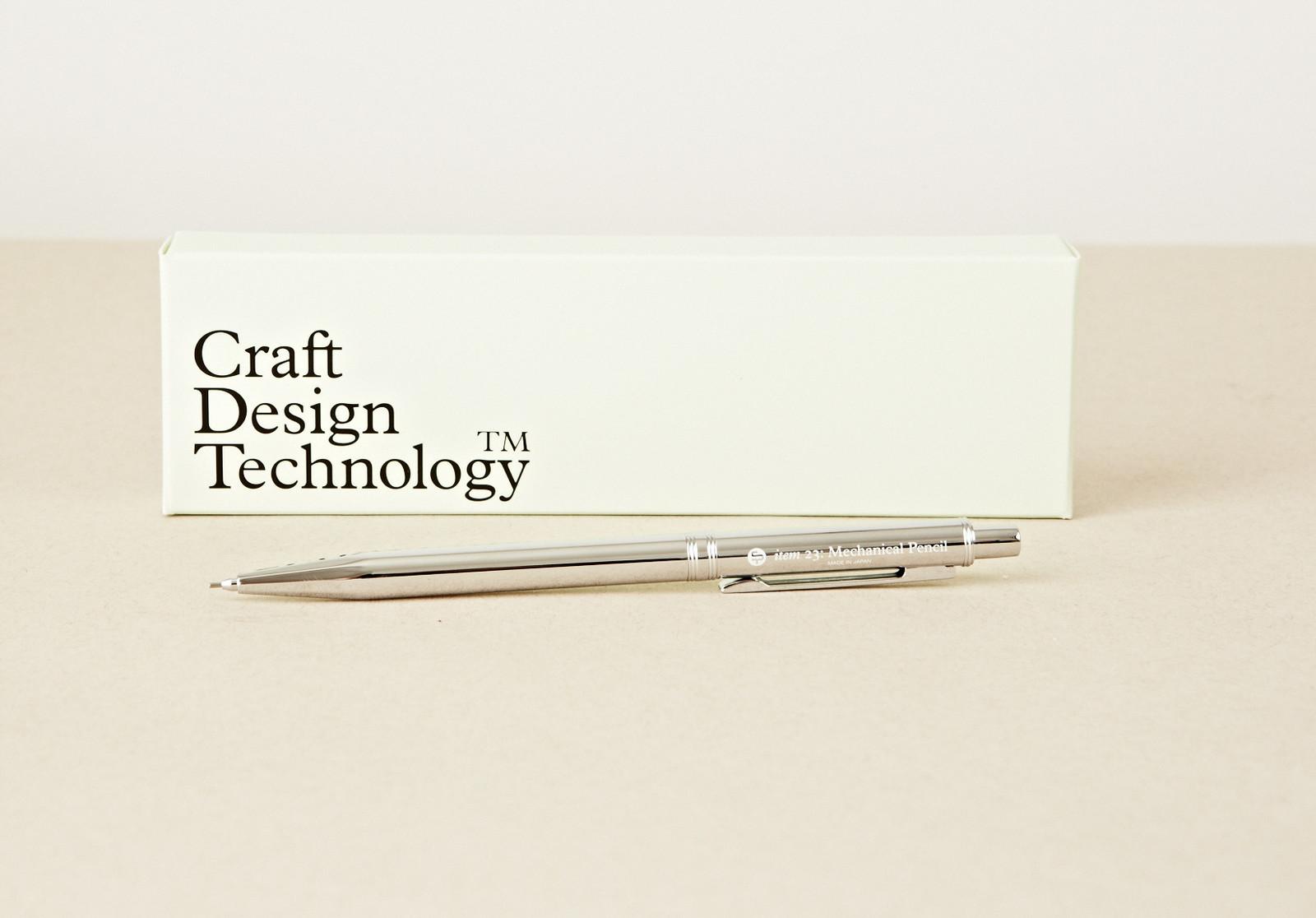 Chrome mechanical pencil