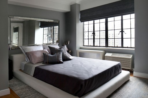 Decor Aid Industrial Gray bedroom