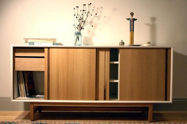 handmade wooden sideboard