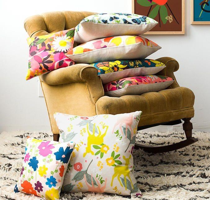 Elizabeth Grubaugh pillow