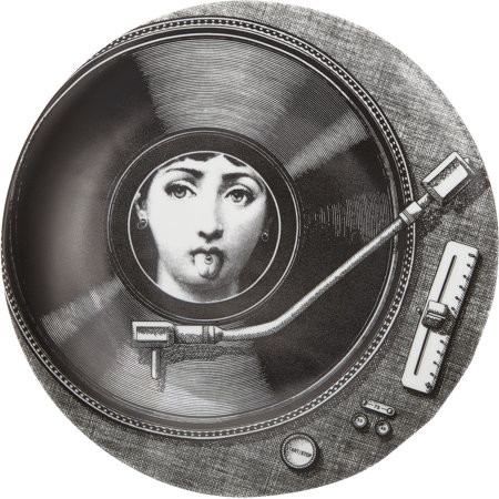 Fornasetti turntable plate