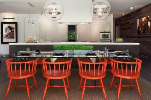 Modern Connecticut white kitchen