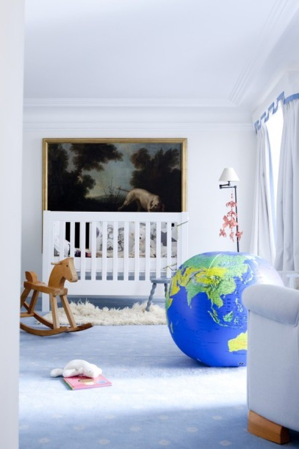 Globe Beach Ball Nursery Decor