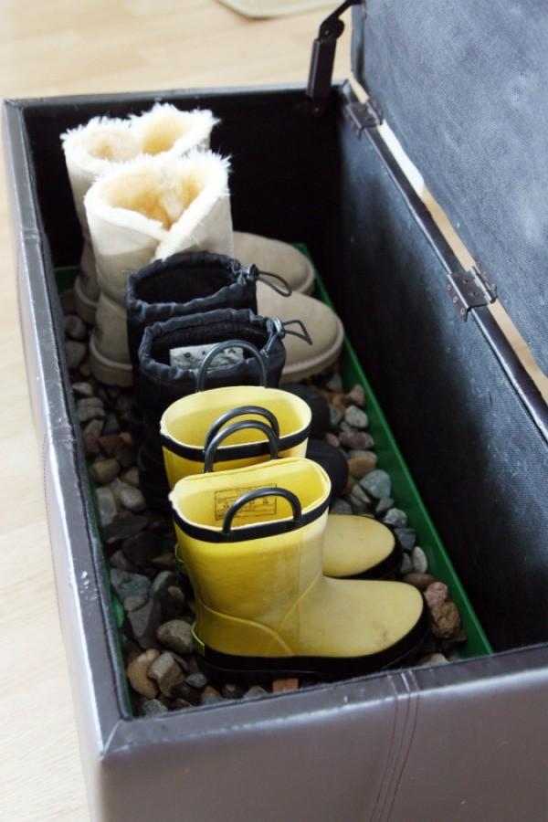 Boot box storage idea