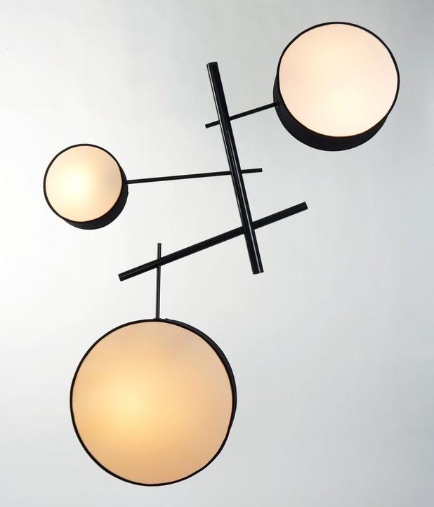 round drum chandelier