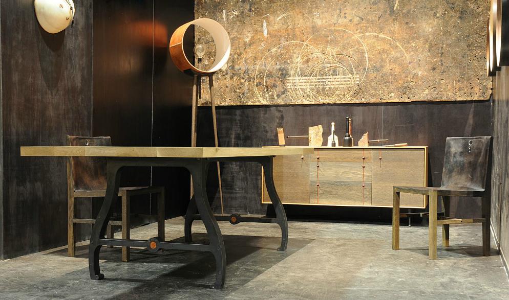 Dining table Eisenbock base