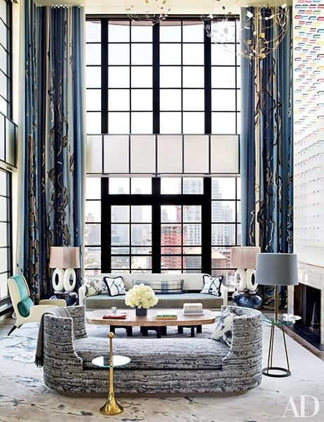 floor to ceiling living room windows