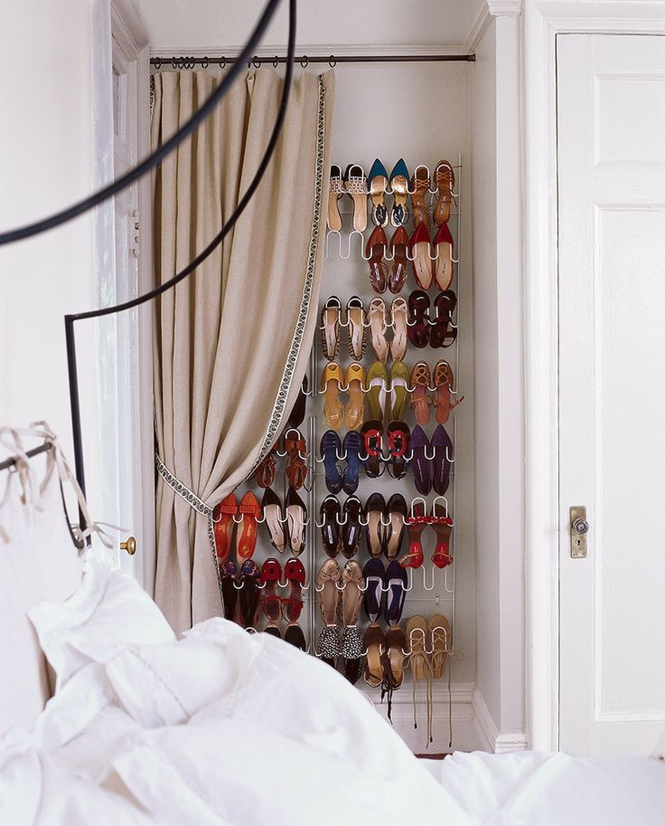 Shoe rack solution for small spaces
