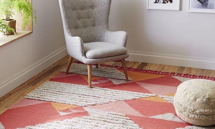 Sonora Shag wool rug