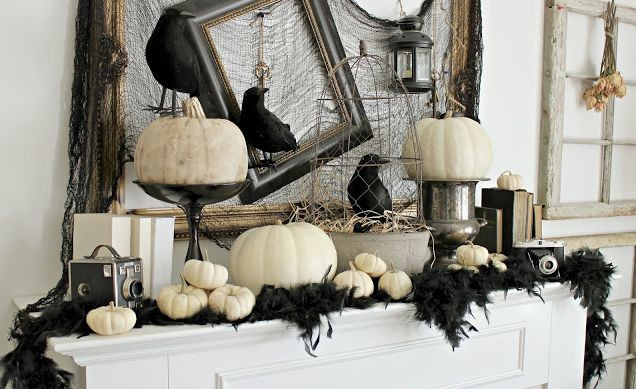 Haloween Ravens decoration