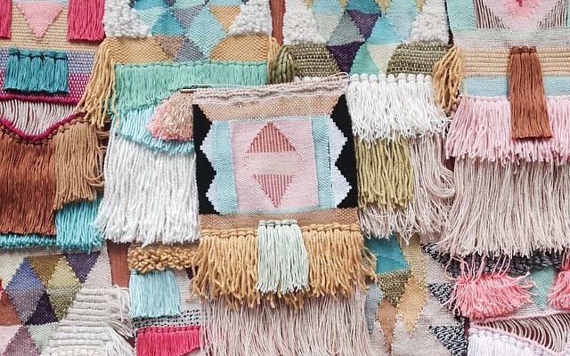 Fringe Textile Art Moodie