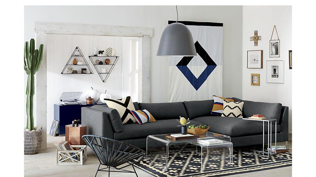Room look bigger Lucite furniture