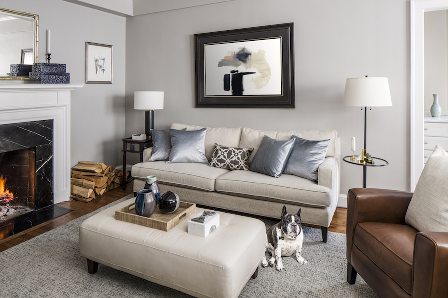 Gramercy Park living room